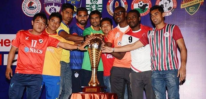I-League 2015/16 Results