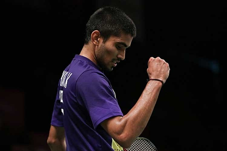 The fistpumps and the determination are back for the India No. 1 Kidambi Srikanth