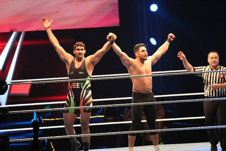 Exclusive photos from Day 2 WWE Live India - 16/01/2016