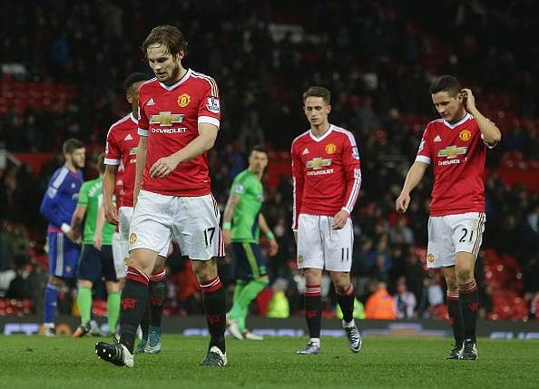 Manchester United 0-1 Southampton: Player Ratings