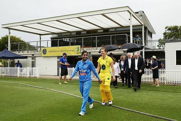 India women's Twenty20 practice match in Australia washed out due to rain