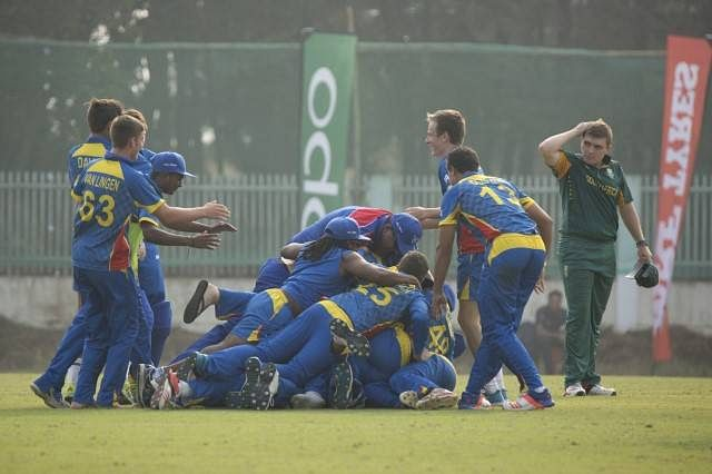 ICC U-19 World Cup: Namibia stun defending champions South Africa to qualify for quarterfinals
