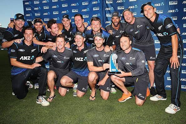New Zealand seal ODI series by winning the 3rd ODI against Pakistan