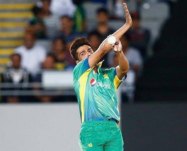 Pakistan beat New Zealand in the first T20 International in Mohammad Amir's comeback