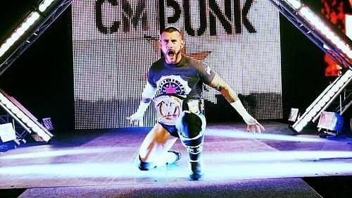 Is this a sign that CM Punk is nearing his UFC debut?