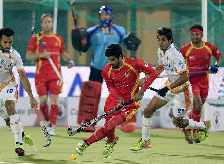 Ranchi Rays beat Kalinga Lancers in eastern derby to top the HIL table