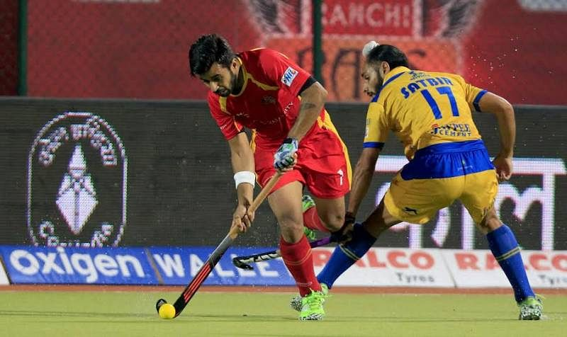 Ranchi Rays register their hat trick win on home turf, beat Punjab Warriors 5-4