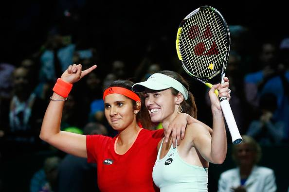 Sania Mirza and Martina Hingis win 29th straight match to make it to Sydney International final