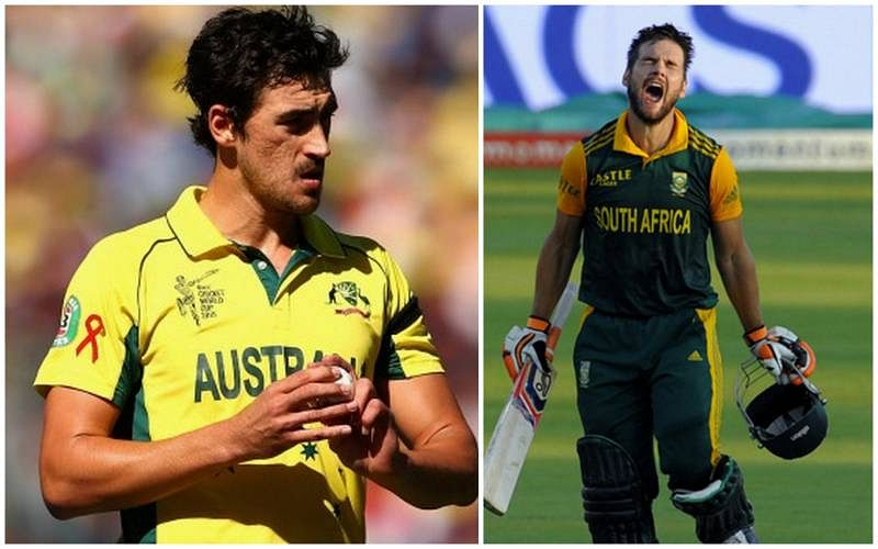 Rilee Rossouw and Mitchell Starc have entertaining banter over Fifa and Liverpool's shoddy defending