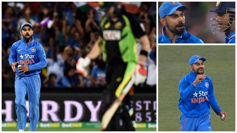 Why Virat Kohli mouthed off Steven Smith after taking his catch