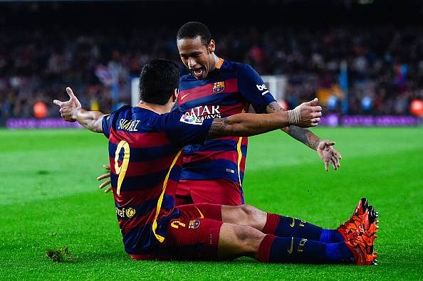 Stats: Europe's top attacking duos - Barcelona's Luis Suarez and Neymar most potent