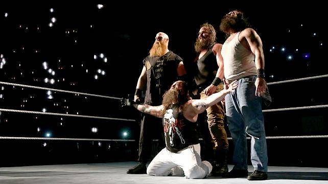 5 feuds for the the Wyatt Family in 2016