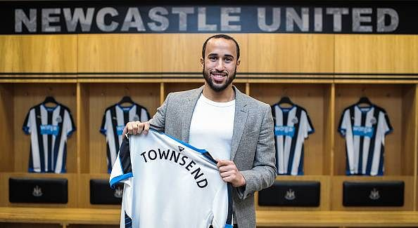 Tottenham midfielder Andros Townsend joins Newcastle United