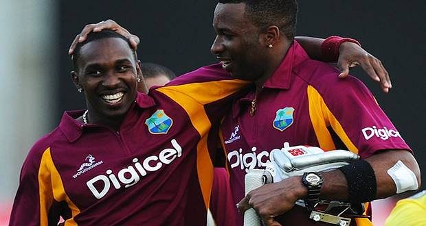 Darren Sammy and Andre Russell dropped from WICB contract list for the year 2015-16