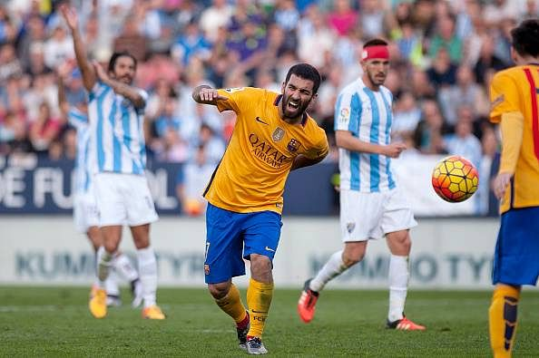 Arda Turan set to miss Barcelona's clash against Athletic Bilbao
