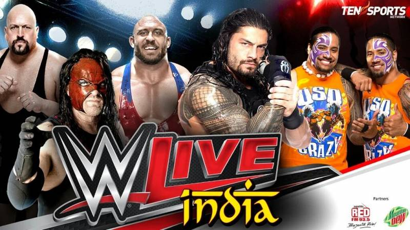 WWE Live India Results 15/01/2016