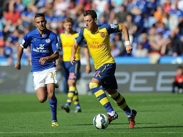 Mesut Ozil is cautious about facing Leicester on Sunday