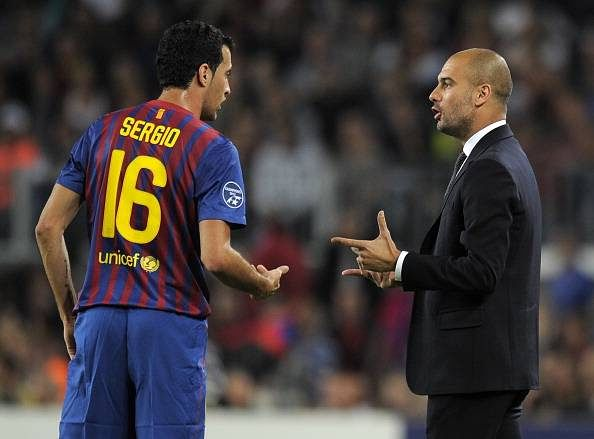 Sergio Busquets reveals that only Guardiola and his wife can make him leave Barcelona