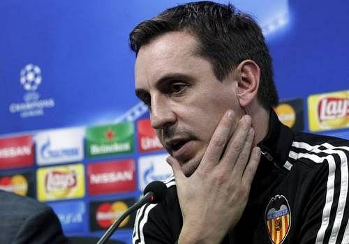 Valencia coach Neville stays positive as pressure mounts