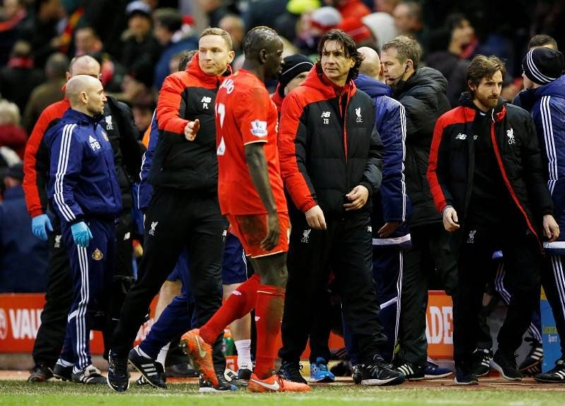 Liverpool collapse nothing to do with protest, says coach