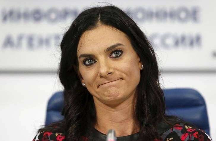 Former two-time Olympic Pole Vault Champion Yelena Isinbayeva withdraws from Russian Grand Prix