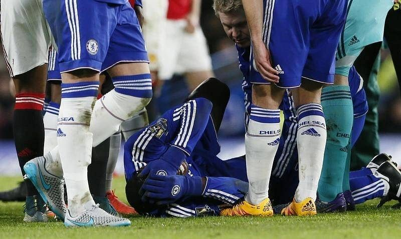 Chelsea's Kurt Zouma faces six months out after knee surgery