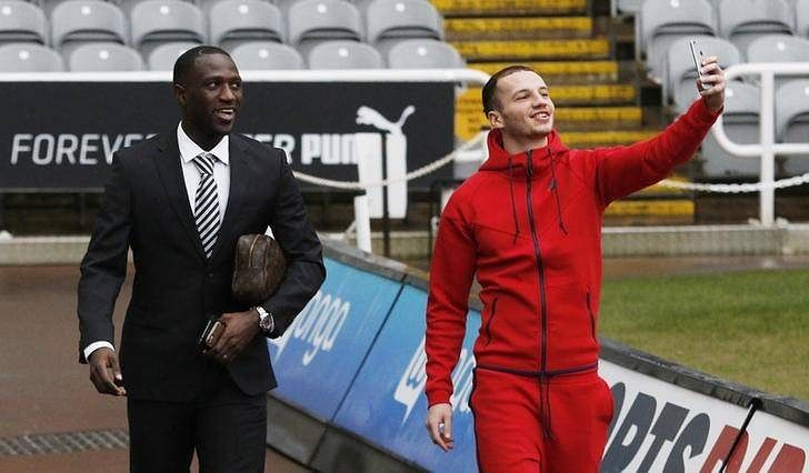 Sissoko tips Shelvey to fill void left by Cabaye at Newcastle