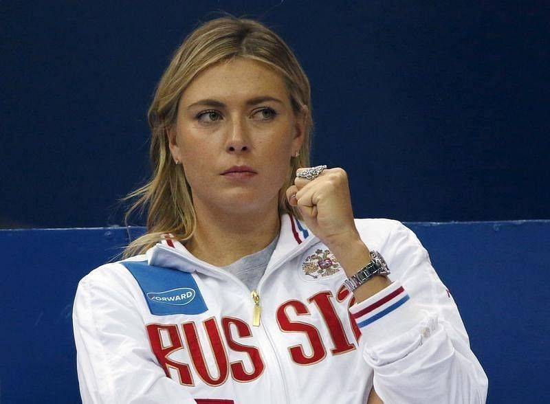 Sharapova withdraws from Qatar Open with arm injury