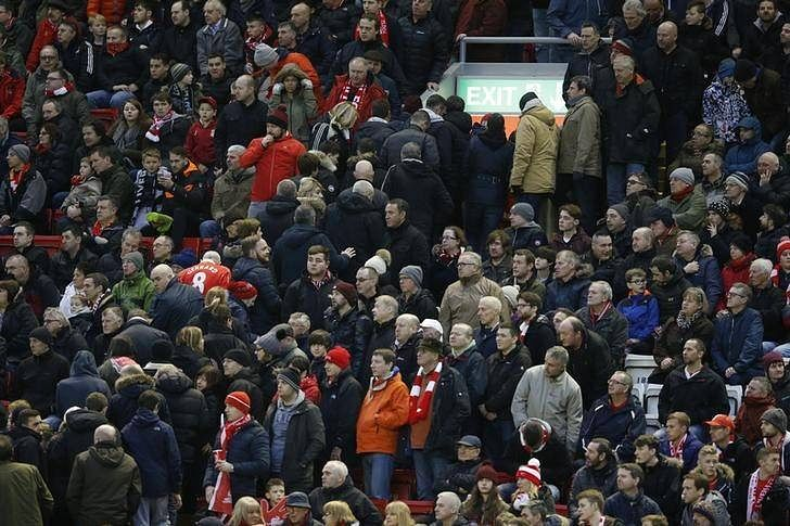 Liverpool back down on ticket-price hike