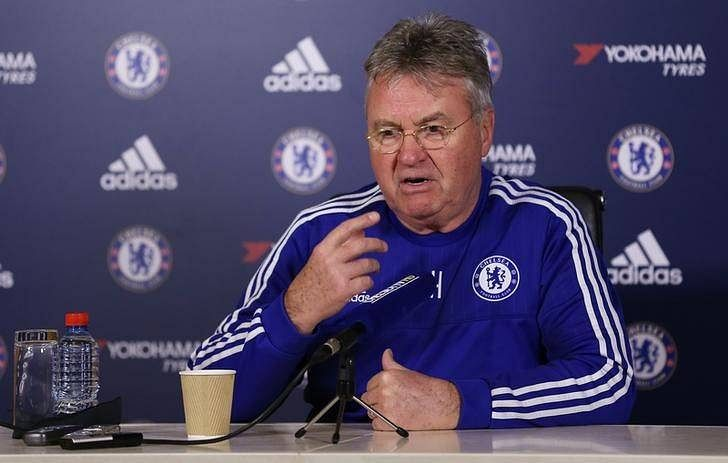 Chelsea a team of 'Zorros', says Hiddink after Costa breaks nose