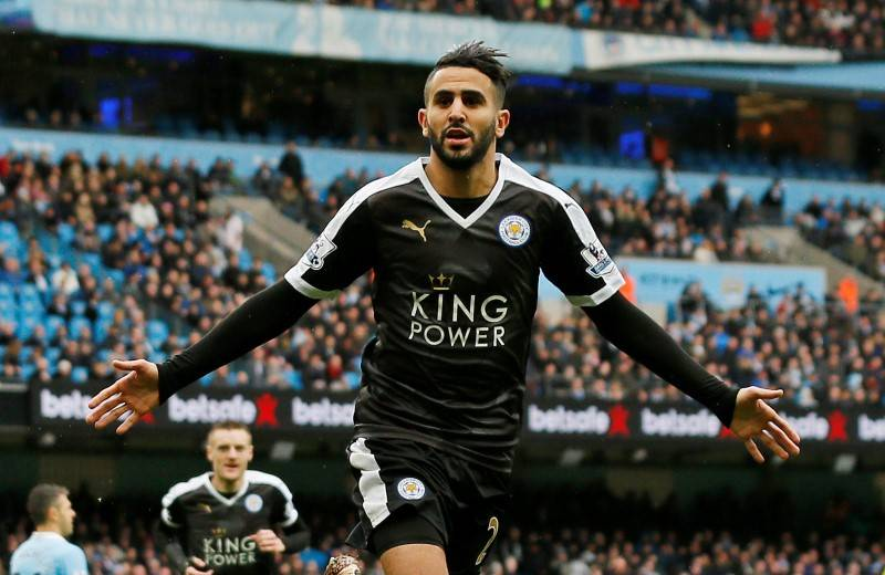 Leicester will drop me if I don't track back - Mahrez