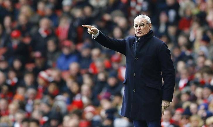 Proud Ranieri rues refereeing decisions as Leicester falter