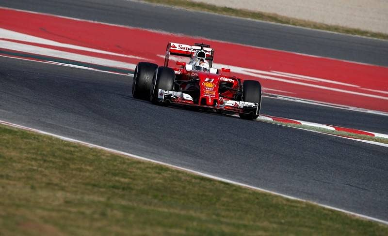 Sebastian Vettel keeps Ferrari ahead in Formula One testing
