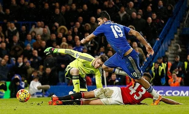 Chelsea 1-1 Manchester United : Player Ratings