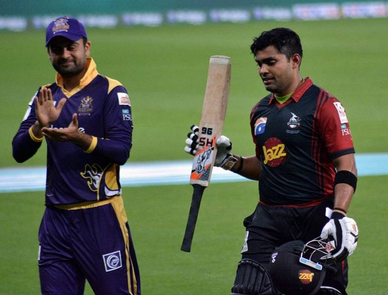 PSL, Match 8: Umar Akmal's 40-ball 93 helps Lahore Qalandars thrash Quetta Gladiators by 63 runs