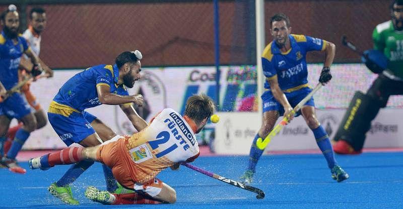 Jaypee Punjab Warriors beat Kalinga Lancers 4-1 in crucial HIL tie