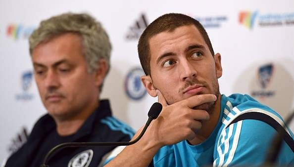 Eden Hazard apologizes to former Chelsea boss Jose Mourinho