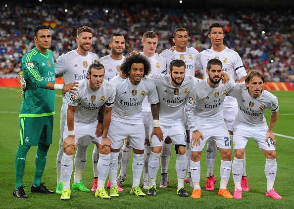 Real Madrid Players 2016