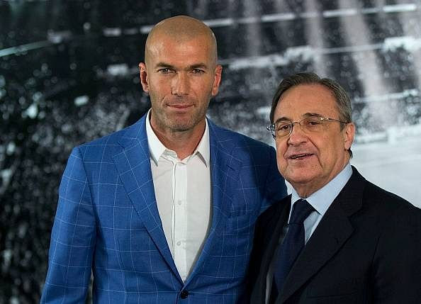 Reports: Real Madrid sign Zinedine Zidane as manager until 2018