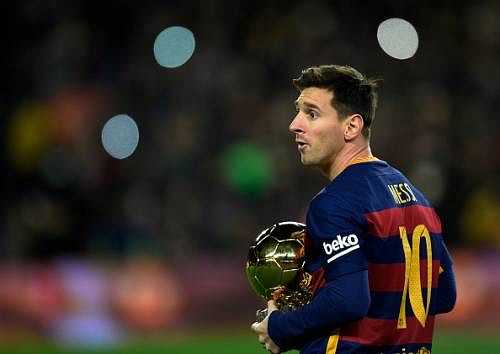 Lionel Messi bags La Liga 'Player of the Month' award for the first time ever