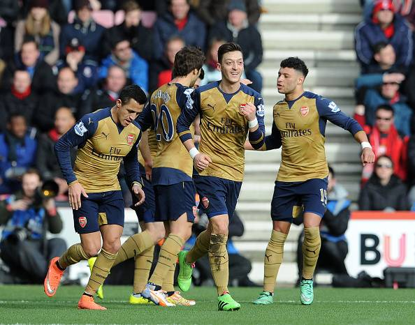 Bournemouth 0-2 Arsenal: Player Ratings