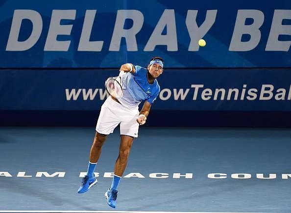 Juan Martin del Potro makes successful return to tennis at Delray Beach Open