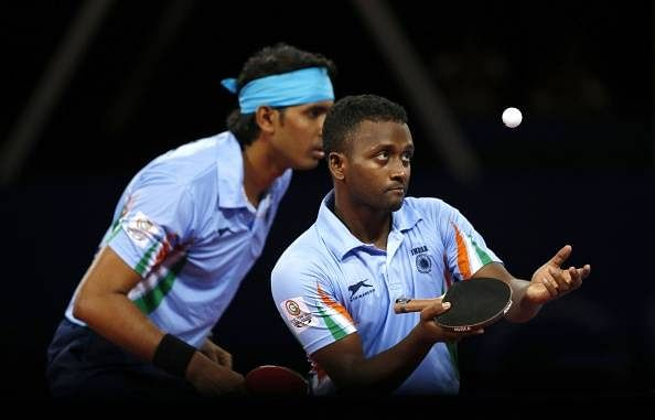 South Asian Games: Amalraj-Batra win mixed doubles gold in table tennis