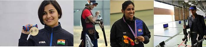 India at the Asian Shooting Olympic qualifier: A Review