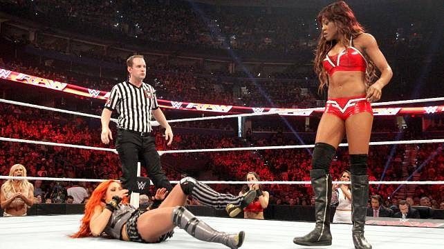WWE Diva praised backstage