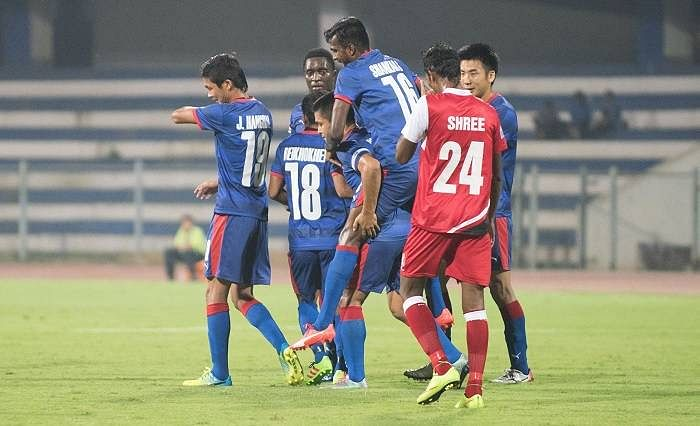 I-League: Bengaluru FC beat DSK Shivajians 4-1 to top table