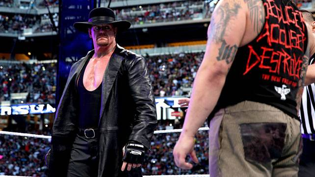 Does this confirm the reports of Undertaker's WrestleMania 32 plans?