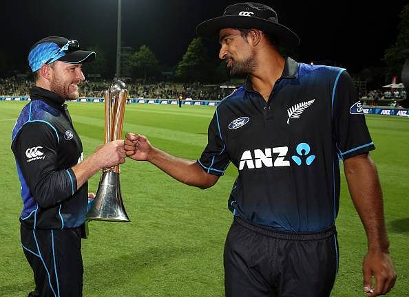 New Zealand seal Chappell-Hadlee Trophy in McCullum's final ODI