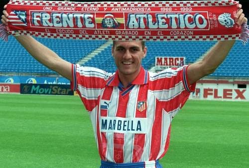 10 top strikers who played for Atletico Madrid in the last two decades