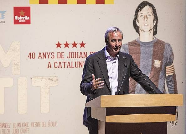 Barcelona legend Johan Cruyff wanted Pep Guardiola to join Manchester United